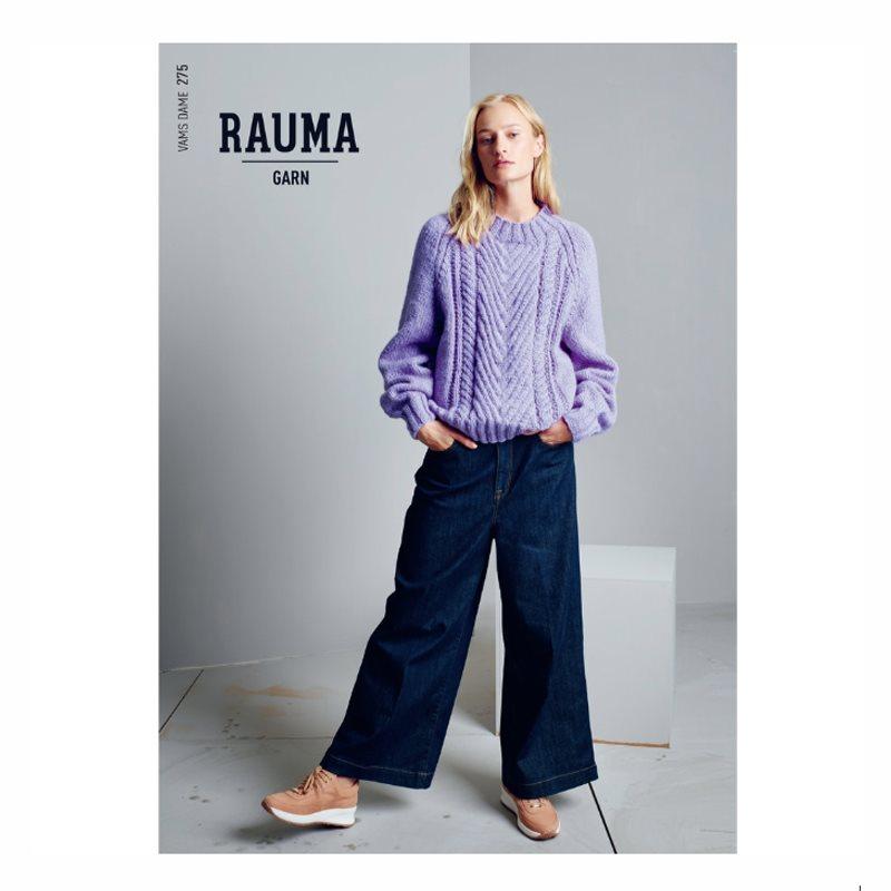 acd96c00 RAUMA HEFTE 275 Dame høst`18 - Garn & strikk - Norsk Flid nettbutikk ...
