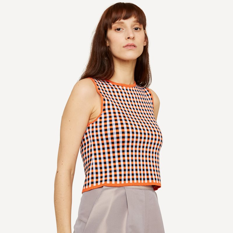 Gingham graph topp